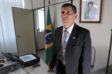 O ministro da Secretaria de Governo Santos Cruz