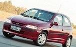 5) Chevrolet Celta Vendas Brasil: 1.700.000 unidades