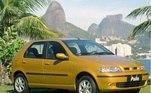 4) Fiat Palio Vendas Brasil : 2.595.763 unidades