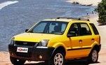22) Ford EcoSport Vendas Brasil: 430.000 unidades