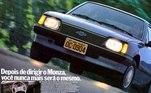 14) Chevrolet Monza Vendas Brasil: 850.000 unidades