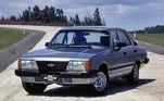 12) Chevrolet Opala Vendas Brasil: 1.000.000 unidades