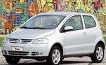 11) Volkswagen Fox Vendas Brasil: 1.097.525 unidades