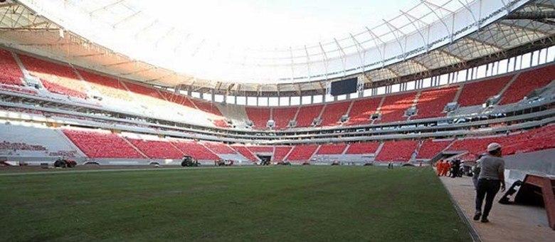 Fifa disse não ter responsabilidade no nome do estádio de Brasília para a Copa