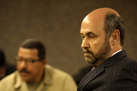 Augusto Farias durante depoimento na terça-feira (7)