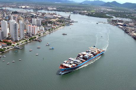 A carga foi apreendida no Porto de Santos