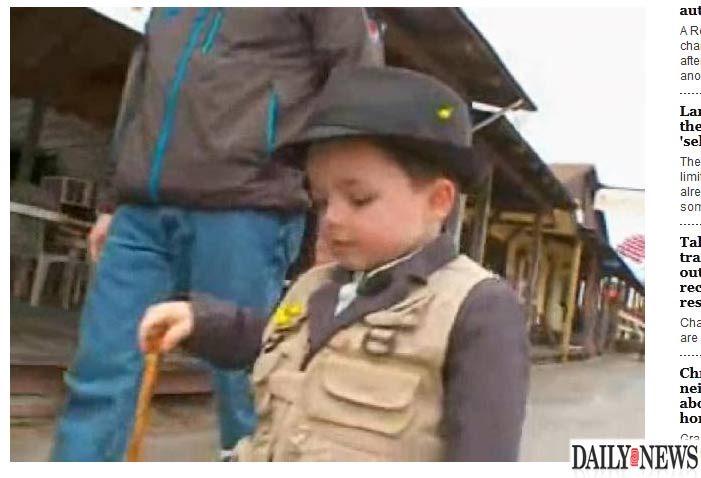 Menino de quatro anos assume como prefeito nos EUA
