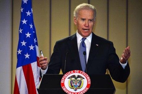 O vice-presidente dos EUA, Joe Biden, participou de eventos na Colômbia, na segunda-feira (27), onde começou seu giro pela América Latina