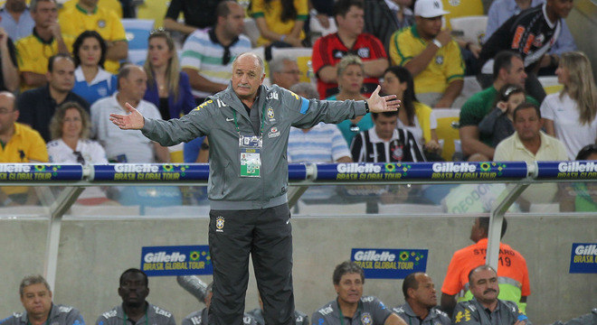 Felipão deve fazer poucas mudanças para o próximo jogo da seleção