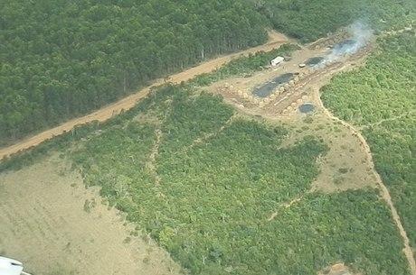 A área sofreu desmatamento de 18.433 hectares, número que não era registrado há 10 anos
