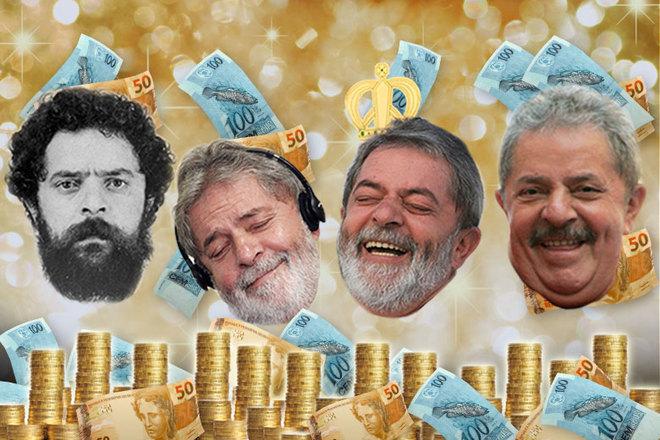 Resultado de imagem para lula milionário