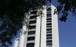 Edifício Hill Hall, em São Bernardo do Campo, onde Lula mora desde 1996