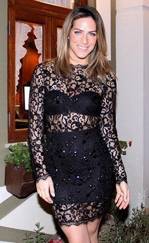 Giovanna Ewbank exibe as curvas com vestido rendado - R7 Meu Estilo ... 022ca63d47d