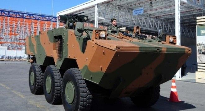 Guarani vai substituir o Urutu, atual modelo usado pelo Exército