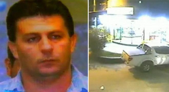 Bandidos chegaram em um carro e dispararam contra a vítima, que estava dentro da padaria, mais de 40 vezes