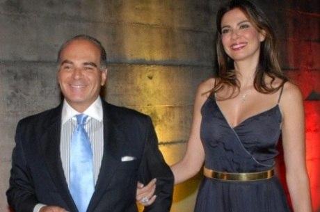 Marcelo e Luciana se casarem em 2006 e têm um filho, Lorenzo