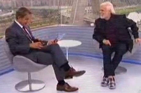 Ator falou sobre a parceria com Ângelo Paes Leme em sua peça