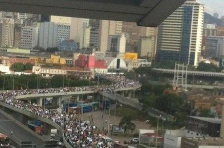 Mobilização popular estava proibida por liminar em Minas Gerais