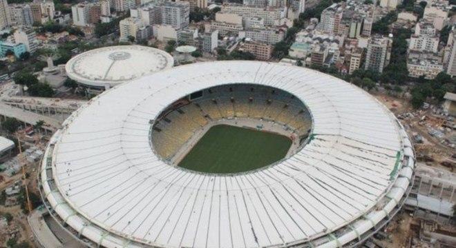 Maracanã será palco da final das Confederações e da Copa do Mundo: aumento de 10% nos gastos com estádios no País