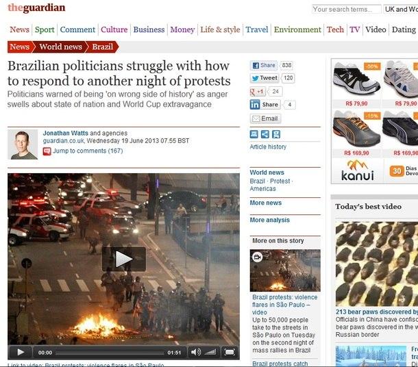 Reprodução/guardian.co.uk