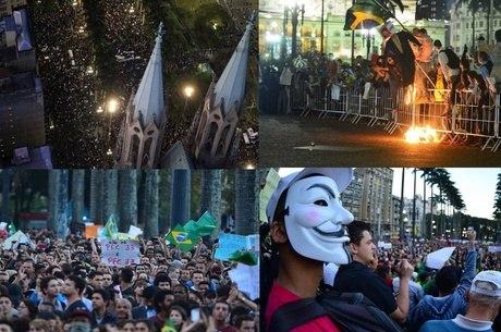 Protestos já ocorreram em diversas capitais durante toda a semana
