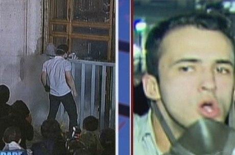 Homem foi preso suspeito de participar de depredação da sede da prefeitura