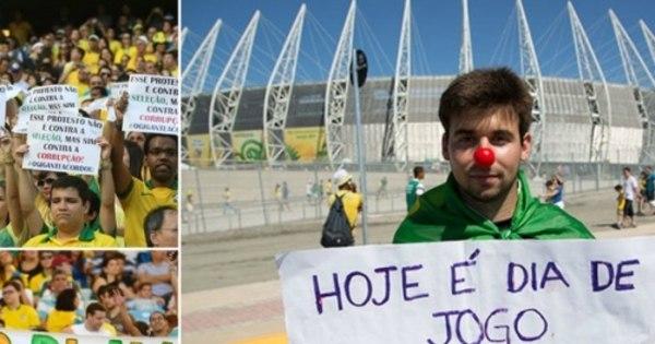 Brasileiros querem Copa de 2014 na Inglaterra