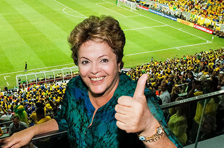 Dilma foi vaiada na abertura da Copa das Confederações