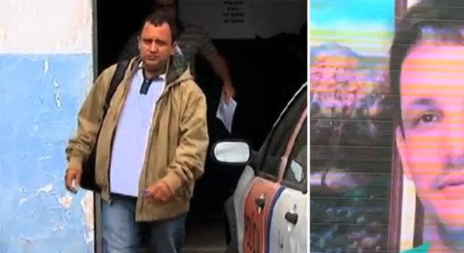 Segundo testemunhas, o sargento Evandro Silveira da Silva (à esquerda) pagou policiais para matarem empresário