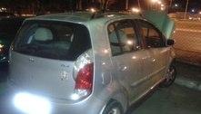 Polícia recupera carro roubado no Recanto das Emas