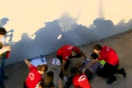 Douglas Henrique de Souza, de 21 anos, não resistiu à queda do viaduto