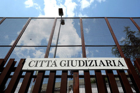 A entrada da corte de justiça do Vaticano, ondefoi anunciada a prisão de Nunzio Scarano
