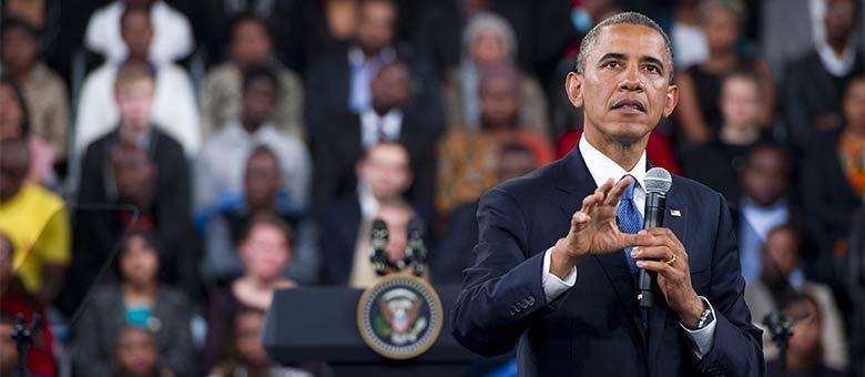 Após visitar família de Mandela, Obama se encontrou com estudantes em Johannesburgo