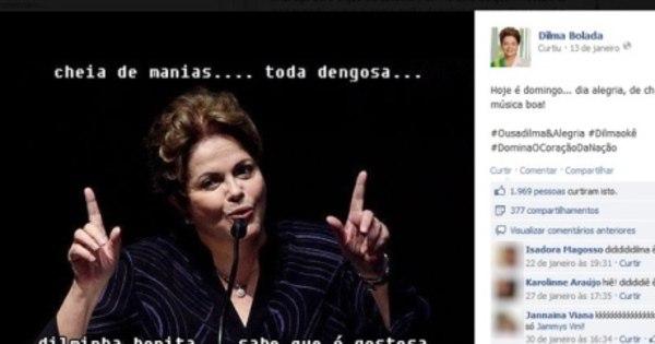 'Dilma Bolada' tira proveito da crise