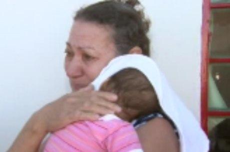 A dona de casa Aldete Santos já desenvolveu apego pela menina de apenas oito meses