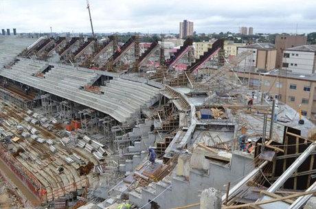 Estádio em Curitiba é um dos mais longes da conclusão para Copa