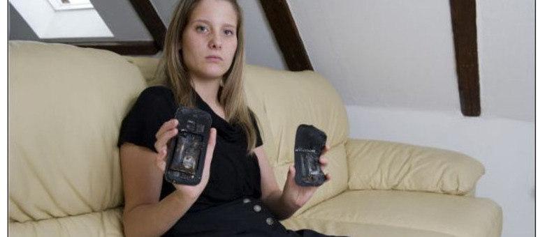 Acidentes com celulares e outros eletrônicos podem causar ferimentos e até incêndios