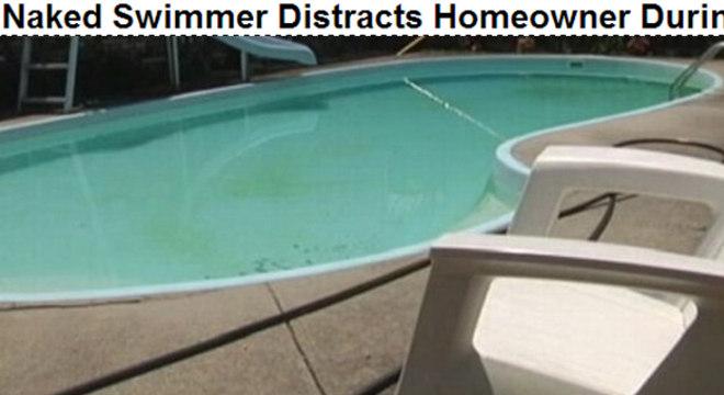 Foi nessa piscina que a peladona nadou enquanto o namorado roubava tudo que o Amaral tinha!