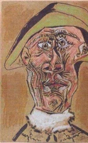 """O quadro """"Cabeça de arlequim"""", de Pablo Picasso, estão entre as obras que possivelmente foi destruída"""