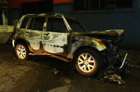 Polícia concluiu que Marcelo Gonçalves da Silva ateou fogo no próprio carro para tentar receber o dinheiro do seguro