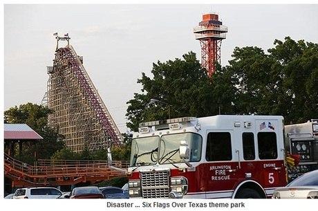 Este foi o segundo acidente fatal ocorrido em dez anos no parque