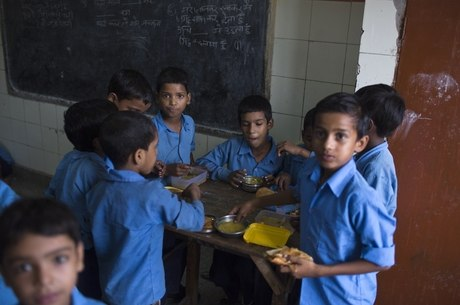 Após o incidente, algumas crianças se recusaram a comer a merenda escolar
