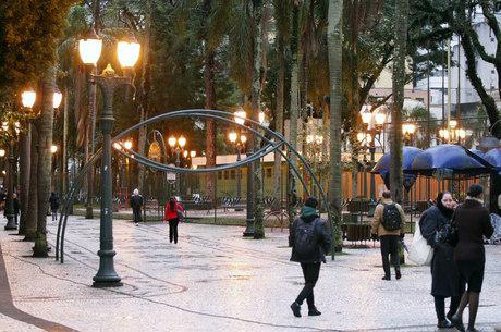 Previsão para Curitiba é que termômetros fiquem entre 2ºC e 8º C