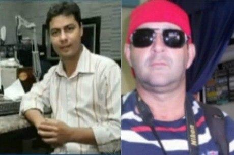 Rodrigo Neto (e) investigava crimes cometidos por policiais; Walgney Carvalho (d) dizia pela cidade que sabia quem eram os assassinos