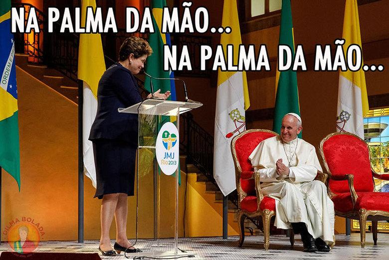 Reprodução/Dilma Bolada