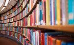Biblioteca, Livros, Stock