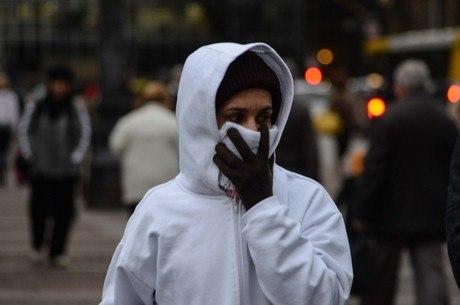 Sensação térmica em SP chegou a 4ºC na madrugada de quinta-feira
