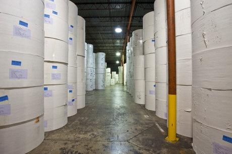 A indústria do papel foi uma das que teve maior alta de preços