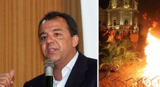 Popularidade de Sérgio Cabral caiu após as manifestações realizadas nos últimos meses