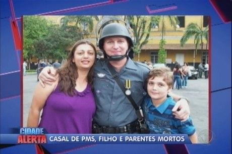 Família foi encontrada morta dentro de casa nesta segunda-feira